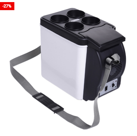 6L Mini Portable Fridge For Cars