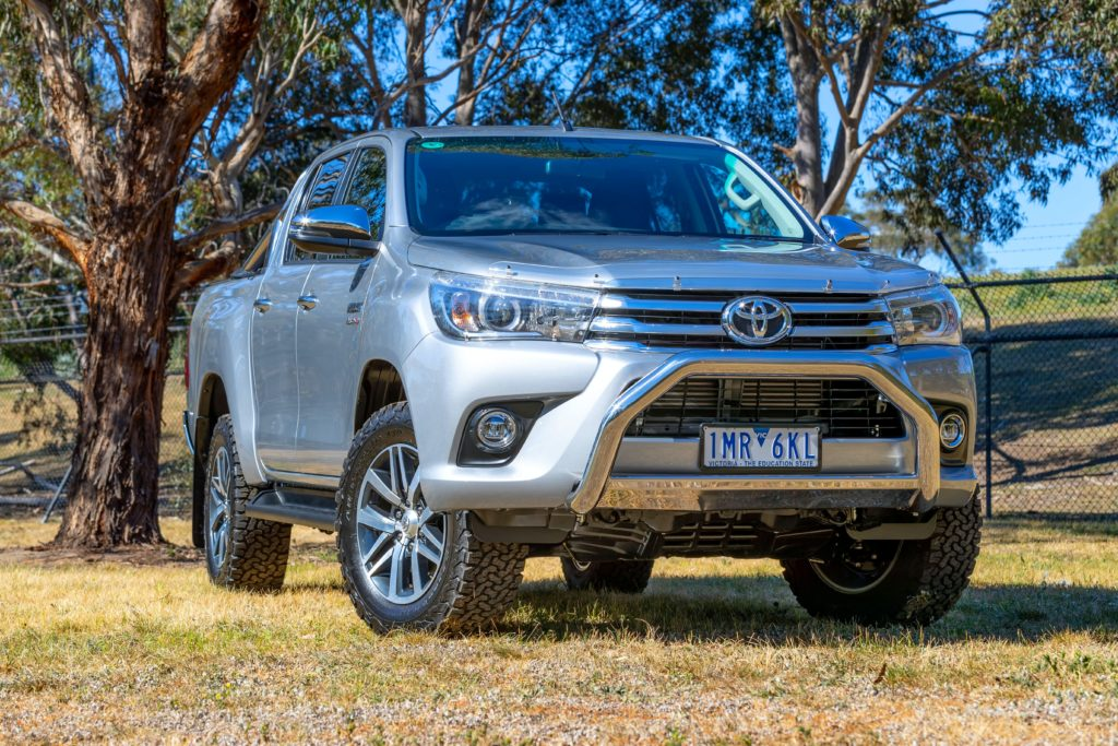 Toyota 4x4 Car With All Types Of Features